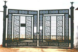 Ворота из металла