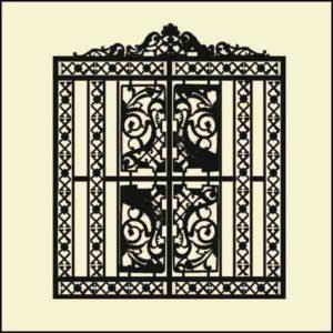Ворота 1  2100