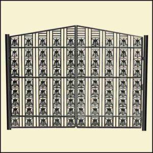 Купить ворота из чугуна