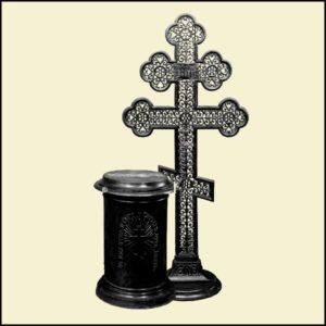 68 70   № 68 - Крест надгробный 1500х800   №70 - Тумба к кресту надгробному 720х500