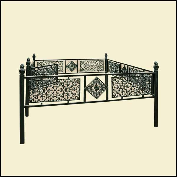 Оградки могильные
